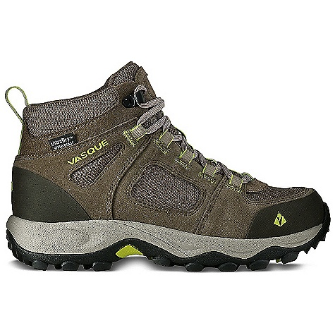 Camp and Hike On Sale. Free Shipping. Vasque Women's Vector WP Boot DECENT FEATURES of the Vasque Women's Vector WP UltraDry Waterproofing System Weight: Women's 7: 2 lbs 1 oz / 930 g Last: Perpetuum Upper: 1.7mm Waterproof Suede, Abrasion Resistant Mesh, Rubber Toe and Heel Cap Footbed: Dual Density EVA Midsole: Molded EVA Outsole: Vasque Quest - $91.96