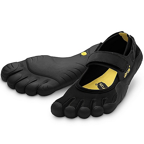 Fitness On Sale. Free Shipping. Vibram Five Fingers Women's Sprint DECENT FEATURES of the Vibram Five Fingers Women's Sprint Shoes Vibram's most popular women's model Lightweight, open design for versatility Thin, stretch polyamide fabric upper follows the contour of the foot for comfort Adjustable hook-and-loop closure across the instep and around the heel for secure fit Flexible, non-marking 3.5mm TC1 performance rubber sole Razor-siped sole enhances flexibility and grip on a variety of terrains Machine washable. Air dry away from heat sources. The SPECS Upper: rasion-resistant stretch polyamide fabric and Hypalon straps Sole: Vibram TC-1 performance rubber Footbed: Antimicrobial microfiber Weight: Women's size 38 - 4.4 oz. each, 8.8 oz. a pair IDEAL USES Fitness Running Water Sports Yoga / Pilates Traveling After Sport This product can only be shipped within the United States. Please don't hate us. - $63.99