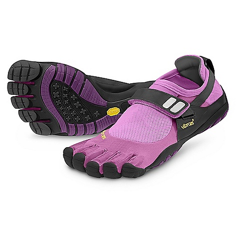 Fitness On Sale. Free Shipping. Vibram Five Fingers Women's TrekSport DECENT FEATURES of the Vibram Five Fingers Women's TrekSport Shoe Designed with rugged, high-performance materials to help maximize outdoor experiences Abrasion-resistant Coconut Active Carbon in the upper for natural breathability 4mm EVA in the midsole for plating protection Lightly cleated 4mm Vibram performance rubber outsole for extra traction on a variety of terrain Machine washable. Air dry away from heat sources The SPECS Upper: Coconut Active Carbon Fiber TPU Toe Protection Sole: 4mm EVA Midsole and TC-1 rubber Footbed: Antimicrobial microfiber Weight: Women's size 38 - 4.8 oz. each, 9.6 oz. a pair IDEAL USES: Fitness Running Traveling Trekking This product can only be shipped within the United States. Please don't hate us. - $58.99