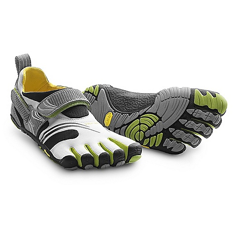 Fitness Free Shipping. Vibram Five Fingers Women's KomodoSport DECENT FEATURES of the Vibram FiveFingers Women's KomodoSport Shoe Aggressive, multi-sport design Vibram's first stitch-free, seamless 2mm footbed reduces friction Heel and instep hook-and-loop closures help secure the stretch nylon upper to the contours of the foot 4mm Vibram TC1 performance rubber outsole provides awesome grip and protection Designed for barefoot running and a variety of cross training activities Machine washable. Air dry away from sun and heat sources. The SPECS Upper: Stretch Mesh and Polyamide Sole: TC-1 Rubber Footbed: 3mm PU and CoolMax Weight: Women's size 42 - 7.1 oz. each, 14.2 oz. a pair IDEAL USES Running Fitness This product can only be shipped within the United States. Please don't hate us. - $109.95