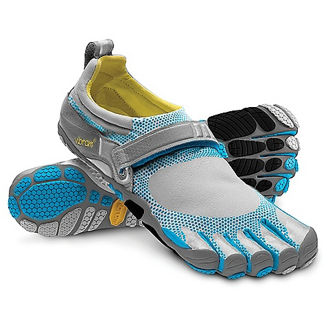 Fitness On Sale. Free Shipping. Vibram Five Fingers Women's Bikila DECENT FEATURES of the Vibram Five Fingers Women's Bikila Shoe A breakthrough in running shoe design Dri-Lex covered 3mm polyurethane insole is thickest under the ball of the foot 4mm anatomical pod outsole design offers more plating for underfoot protection Forefoot impact is distributed without compromising important ground feedback essential to a proper forefoot-strike running form Upper has a more athletic padded collar and topline Single hook-and-loop closure strap 3M reflective surfaces Tear-resistant TPU toe protection The first FiveFingers model designed specifically to promote a more natural, healthier and more efficient forefoot strike Created exclusively for a more natural running experience Machine washable. Air dry away from heat sources. The SPECS Upper: Stretch Polyamide TPU toe caps for protection Sole: Anatomical Pods TC-1 Rubber Footbed: 3mm Polyurethane with Dri-Lex Sockline Weight: Women's size 38 - 4.8 oz. each, 9.6 oz. a pair IDEAL USES Running Fitness This product can only be shipped within the United States. Please don't hate us. - $71.99