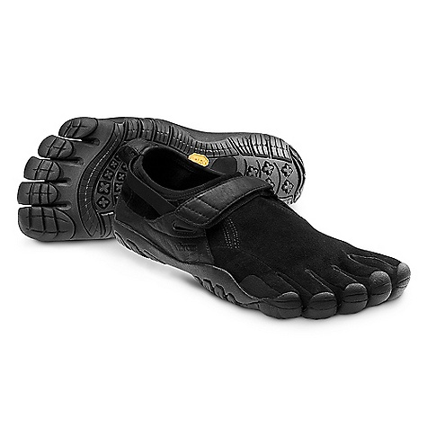 Fitness On Sale. Free Shipping. Vibram Five Fingers Men's KSO Trek SPECIFIACIONS for the Men's KSO Trek Shoe by Vibram FiveFingers Upper - Kangaroo Leather Sole - 4mm EVA Midsole and TC-1 Rubber Footbed - Kangaroo Leather Weight: Men's size 43 - 6.7 oz. each, 13.4 oz. a pair Machine washable. Air dry away from sun or heat source. IDEAL USES: Light Trekking Trail Running Travel This product can only be shipped within the United States. Please don't hate us. - $99.99