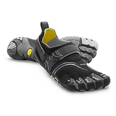 Fitness Free Shipping. Vibram Five Fingers Men's KomodoSport DECENT FEATURES of the Vibram Five Fingers Men's KomodoSport Shoes Aggressive multisport design inherits what Vibram loves about the KSO with functional improvements that appeal to the most active fitness enthusiast Stitch-free seamless 2mm footbed to reduce friction. A Vibram first. Heel and instep hook-and-loop closures help secure the stretch nylon upper to the contours of a foot 4mm Vibram TC1 performance rubber outsole provides grip and protection for a variety of cross training activities Machine washable. Air dry. The SPECS Upper: Stretch Mesh and Polyamide Sole: TC-1 Rubber Footbed: 3mm PU and CoolMax Weight: Men's size 42 - 7.1oz. each, 14.2oz. per pair IDEAL USES Running Fitness This product can only be shipped within the United States. Please don't hate us. - $109.95
