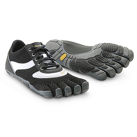 Fitness Free Shipping. Vibram Five Fingers Men's Speed DECENT FEATURES of the Vibram Five Fingers Men's Speed Built on the popular Five Fingers Bikila platform Offers the look and feel of your favorite vintage running shoe with the comfort of Five Fingers most popular running product Designed for the casual wearer Accommodates a wide range of foot widths and instep heights thanks to the traditional lacing system Machine washable. Air dry away from heat source. The SPECS Sole Thickness: 4.0mm 2mm EVA Insole Weight: Men's size 43 - 5.9 oz. each, 11.8 oz./pair IDEAL USES: After Sport Traveling This product can only be shipped within the United States. Please don't hate us. - $99.95