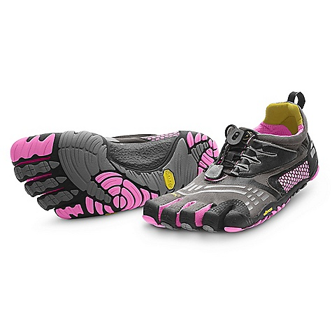 Fitness Getting the right size and style of FiveFingers is supes important to making your venture into bArefoot Fitness a success. Check out our Vibram FiveFingers info page to watch some videos, learn how to size your feet for FiveFingers, and find which FiveFingers Are best for which activities. Features of the Vibram Five Fingers Women's KMD Sport LS Shoe Offers all of the beneFits of the Five Fingers KomodoSport, but with their popular speed lacing system Accommodates wider feet and Higher insteps Stitch-free, seamless 2mm Footbed reduces friction Vibram TC1 Performance rubber Outsole provides the grip and protection you need for a variety of cross training activities Machine wash. Air dry away from sun or heat source - $81.99