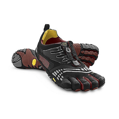 Fitness On Sale. Free Shipping. Vibram Five Fingers Men's KomodoSport LS DECENT FEATURES of the Vibram Five Fingers Men's KomodoSport LS Offers all of the benefits of the Five Fingers KomodoSport, but with their popular speed lacing system Accommodates wider feet and higher insteps Stitch-free, seamless 2mm footbed reduces friction Vibram TC1 performance rubber outsole provides the grip and protection you need for a variety of cross training activities Machine wash. Air dry away from sun or heat source. The SPECS Upper: Polyester Fabric and Nylon Mesh Sole: TC-1 Rubber Footbed: 2mm Polyurethane + Microfiber Weight: Men's size 42 - 6.7oz. each, 14.4oz./pair IDEAL USES Running Fitness This product can only be shipped within the United States. Please don't hate us. - $79.99