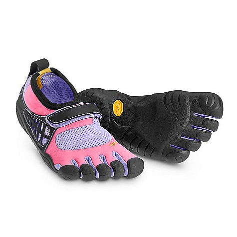 On Sale. Free Shipping. Vibram Five Fingers Kids' KSO FEATURES of the Kids KSO by Vibram Five Fingers   Upper - Abrasion resistant stretch nylon Single hook and loop closure for quick and secure fit Sole - Non-marking 3.5mm Vibram TC1 performance rubber Machine washable. Air Dry This product can only be shipped within the United States. Please don't hate us. - $47.99