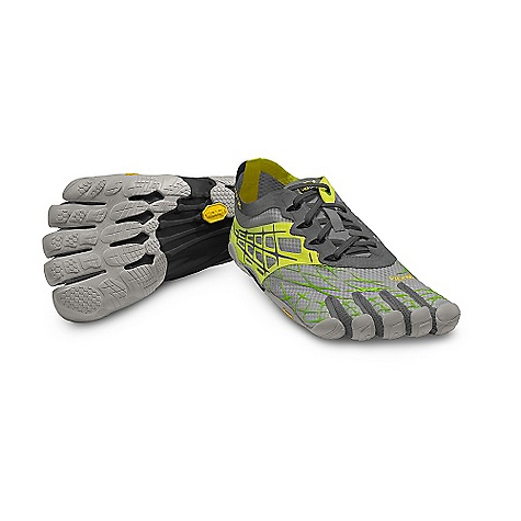"Fitness Free Shipping. Vibram Five Fingers Men's SeeYa LS Shoe DECENT FEATURES of the Vibram Five Fingers Men's SeeYa LS Shoe Ultra-streamlined Newest performance option for serious minimalist runners Designed to bring you even closer to the barefoot sensation Radically reduced overall weight and material with a more breathable mesh upper Delivers true, performance-driven footwear Minimum rubber thickness in the outsole maximizes ""foot feel"" and flexibility Soft TPU midsole further reduces thickness and weight for natural movement Stitched-in polyurethane insole protects skin and foot tissue during longer runs Snug fit, the lightweight, single-layer, stretch mesh upper has an adjustable hook-and-loop closure 3M reflective applications for night running Machine Washable Air Dry The SPECS UPPER fabric: Polyester Stretch Mesh SOLE fabric: Vibram TC-1 Rubber FOOTBED fabric: 3mm Polyurethane Insole Anti-Microbial Dri-Lex Sockliner Machine washable. Air dry Men's weight: Size 43 - 4.8oz. each, 9.6oz./pair This product can only be shipped within the United States. Please don't hate us. - $99.95"