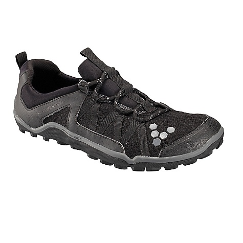 Camp and Hike On Sale. Free Shipping. Vivo Barefoot Women's Breatho Trail Shoe DECENT FEATURES of the Vivo Barefoot Women's Breatho Trail Shoe Upper: Breathable Mesh: Comfortable and lightweight, this mesh allows ventilation and airflow around the foot Lacing: Lock-Lacing System: Zigzag webbing eyelets make sure the foot is secure in the shoe Collar / Panel and Lining: Dri-lex: Lightweight, performance lining for moisture wicking and superior comfort Insoles: PU Insole: 3 mm insole with hex-flex moisture management system Sole Construction: Off Road: Rubber outsole specifically designed for off road surfaces with directional lugs to maximize surface contact for superior barefoot traction Outsole Thickness: 2.5 mm with 4.5 mm lugs: Offering maximum proprioception with protection and ultimate grip Toe Guard: TPU Toe Guard: Protects the foot and prevents scuffs for additional durability Weight: 7.54 oz / 200 g Eco Credentials: 100% Vegan - $69.99