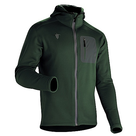 Ski Free Shipping. Wild Things Men's Customizable Wind Pro Hoody DECENT FEATURES of the Wild Things Men's Wind Pro Hoody Made with highly wind-resistant Polartec Wind Pro fleece Hard face jersey shell with fleece back Blocks the wind 4x more than traditional fleece Polartec Wind Pro is highly breathable and maintains 85% of the breathability of traditional fleece to prevent overheating Laminated pocket is made from Schoeller 61488 and reinforced with a perimeter stitch Scuba-style hood Laminated chest pocket for stashing keys or credit cards Made in USA CUSTOMIZABLE FEATURES Outer shell color Side panel fabric Side panel color Optional chest pocket Side of the jacket for chest pocket placement Optional hand pockets Zipper color Custom stitch color Wild Things logo color Personal ID embroidery up to 15 characters long on either the chest or right sleeve Embroidery font and color The SPECS Fabric: 95% poly, 5% spandex Pocket: 88% nylon, 12% spandex Approximate Average Weight: 18 oz - $119.00