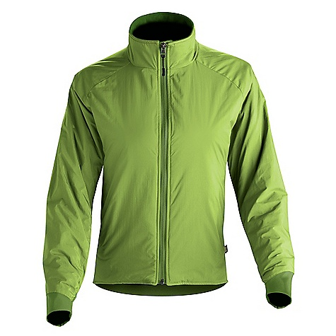 Free Shipping. Wild Things Women's Customizable Insulight Jacket DECENT FEATURES of the Wild Things Women's Insulight Jacket Highly water resistant, nylon-shelled jacket Extremely compact and stuffs easily into a corner of a pack 2 oz PrimaLoft insulation Two tricot-lined hand warmer pockets Stretch side panels for added breathability and mobility Interior mesh pocket Four-way stretch clean finished cuffs Made in USA CUSTOMIZABLE FEATURES Outer shell fabric Outer shell color Side panel fabric Side panel color Cuff fabric Cuff color PrimaLoft Sport insulation weight Liner color Hood - no hood with fleece lined collar or insulated hood Optional chest pocket Side of the jacket for chest pocket placement Zipper color Wild Things logo color Personal ID embroidery up to 15 characters long on either the chest or right sleeve Embroidery font and color The SPECS Shell: 100% 70 denier nylon, Epic by Nextec Side Panels: Polartec Wind Pro 9509, 95% poly, 5% spandex Cuffs: Schoeller 61488, 88% nylon, 12% spandex Insulation: 2 oz PrimaLoft Sport synthetic Lining: Erictex, 100 poly, 30d Approximate Average Weight: 18 oz - $189.00