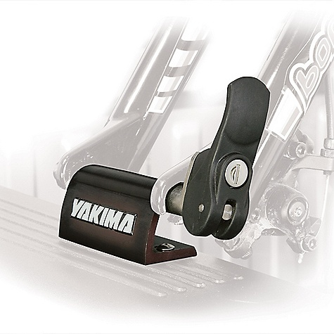 Fitness On Sale. Free Shipping. Yakima Locking BlockHead Bike Mount DECENT FEATURES of the Yakima Locking BlockHead Bike Mount Each Locking BlockHead truck bed rack system secures one bike Mounts on trucks, RVs, boats or alien spacecraft 9mm long throw skewer Soft padding to protect your paint job Corrosion-resistant anodized black aluminum Locks included standard The SPECS Weight: 1 lb Dimension: Bracket is 2in. high, 4in. long Capacity: 1 Bike  var dealerId=16; var newWindow=in.falsein.; var docHead = document.getElementsByTagName('head')[0];  var yakima_config = document.createElement('script'); window.onload=function(){  yakima_config.type = 'text/javascript';   yakima_config.src = 'http://yakima.com/dealers/yakima_configurator.js';   docHead.appendChild(yakima_config); }; OVERSIZE ITEM: We cannot ship this product by any expedited shipping method (3-Day, 2-Day or Next Day). Even if you pick that option, it will still go Ground Shipping. Sorry for being so mean. This product can only be shipped within the United States. Please don't hate us. - $45.00