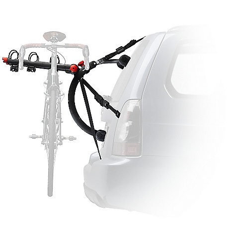 Fitness On Sale. Free Shipping. Yakima Quickback 3 Trunk-Mount Bike Rack DECENT FEATURES of the Yakima Quickback 3 Trunk-Mount Bike Rack The QuickBack 3 bike trunk carrier is quite accurately named, thanks to its 3 bike capacity Integrated adjustment knob lets you adjust arm angles to gently cradle your bikes Labeled strap system makes installing your trunk style bike carrier super easy Arms quickly fold down when not in use with a single knob Premium padded feet and coated padded metal buckles protect your vehicle's paint job Switch Blade anti-sway cradles eliminate bike-to-bike contact Glass hatch hooks included for glass trunk or gate mounts Security system included with a steel-reinforced strap that goes into the trunk Best option for hatchbacks, minivans and SUVs Integrated bottle opener The SPECS Weight: 14.8 lbs Dimension: (W x H x L): 20in. x 12.5in. x 24.5in. Arms Inside to Inside: 8.75in. Arms Center to Center: 10.25in. Capacity: 3 bikes, 90 lbs total. (Some applications limited to 2 bikes, 60 lbs total, see Fit List and Instructions.)  var dealerId=16; var newWindow=in.falsein.; var docHead = document.getElementsByTagName('head')[0];  var yakima_config = document.createElement('script'); window.onload=function(){  yakima_config.type = 'text/javascript';   yakima_config.src = 'http://yakima.com/dealers/yakima_configurator.js';   docHead.appendChild(yakima_config); }; OVERSIZE ITEM: We cannot ship this product by any expedited shipping method (3-Day, 2-Day or Next Day). Even if you pick that option, it will still go Ground Shipping. Sorry for being so mean. This product can only be shipped within the United States. Please don't hate us. - $188.10