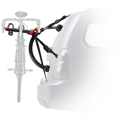 Fitness On Sale. Free Shipping. Yakima Quickback 2 Trunk-Mount Bike Rack DECENT FEATURES of the Yakima Quickback 2 Trunk-Mount Bike Rack The QuickBack 2 bike trunk carrier is quite accurately named, thanks to its 2 bike capacity Integrated adjustment knob lets you adjust arm angles to gently cradle your bikes Labeled strap system makes installing your trunk style bike carrier super easy Arms quickly fold down when not in use with a single knob Premium padded feet and coated padded metal buckles protect your vehicle's paint job Switch Blade anti-sway cradles eliminate bike-to-bike contact Glass hatch hooks included for glass trunk or gate mounts Security system included with a steel-reinforced strap that goes into the trunk Best option for hatchbacks, minivans and SUVs Integrated bottle opener The SPECS Weight: 13.8 lbs Dimension: (W x H x L): 20in. x 12.5in. x 24.5in. Arms Inside to Inside: 8.75in. Arms Center to Center: 10.25in. Capacity: 2 bikes, 70 lbs total. (Some applications limited to 2 bikes, 60 lbs total, see Fit List and Instructions.)  var dealerId=16; var newWindow=in.falsein.; var docHead = document.getElementsByTagName('head')[0];  var yakima_config = document.createElement('script'); window.onload=function(){  yakima_config.type = 'text/javascript';   yakima_config.src = 'http://yakima.com/dealers/yakima_configurator.js';   docHead.appendChild(yakima_config); }; OVERSIZE ITEM: We cannot ship this product by any expedited shipping method (3-Day, 2-Day or Next Day). Even if you pick that option, it will still go Ground Shipping. Sorry for being so mean. This product can only be shipped within the United States. Please don't hate us. - $179.10