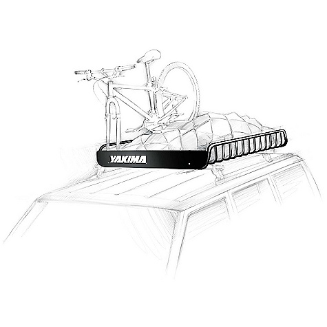 Fitness On Sale. Free Shipping. Yakima MegaWarrior Gear Basket DECENT FEATURES of the Yakima MegaWarrior Gear Basket MegaWarrior rooftop cargo baskets are best for larger vehicles like trucks, SUVs and off-roaders (52in. x 48in. x 6.5in.). If you have a small or midsized vehicle, check out the slightly smaller LoadWarrior Custom wind fairing included for extra noise reduction Moveable accessory bars act as crossbars for gear-specific mounts like bike/boat/snow/box accessories Weather-resistant heavy-duty steel construction Optional locking bracket (sold separately) secures your basket to your car rack system Universal attachment system fits car rack systems with round, square and most factory crossbars The SPECS Weight: 35 lbs Dimension: 52in. x 48in. x 6.5in. Capacity: Varies by vehicle  var dealerId=16; var newWindow=in.falsein.; var docHead = document.getElementsByTagName('head')[0];  var yakima_config = document.createElement('script'); window.onload=function(){  yakima_config.type = 'text/javascript';   yakima_config.src = 'http://yakima.com/dealers/yakima_configurator.js';   docHead.appendChild(yakima_config); }; OVERSIZE ITEM: We cannot ship this product by any expedited shipping method (3-Day, 2-Day or Next Day). Even if you pick that option, it will still go Ground Shipping. Sorry for being so mean. This product can only be shipped within the United States. Please don't hate us. - $341.10