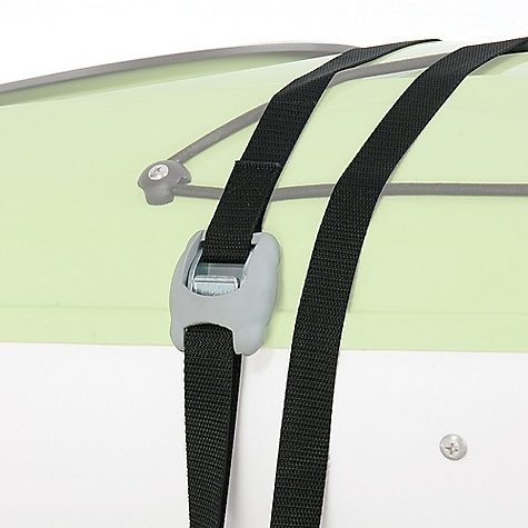 The Yakima Heavy Duty Straps, with quick and easy-to-use buckles, ensure that if you hear the words 'boat' and 'projectile' in the same sentence, it won't be in reference to you. Features of the Yakima Heavy Duty Straps - Pair Soft rubber buckle cover protects boat and vehicle from scratches Straps can be cut to length if required Box-stitched Polypropylene webbing is super strong Sold in pairs of 16-foot straps Looking for a locking feature to your cargo tie-down solution Check out the Yakima Rip Cords - they're lockable and include Yakima's SKS Lock Cores - $30.00