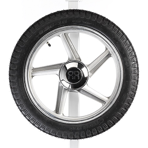 On Sale. Free Shipping. Yakima 5 Spoke Spare The Yakima 5 Spoke Spare includes a Chrome Hubcap and mounting hardware.  var dealerId=16; var newWindow=in.falsein.; var docHead = document.getElementsByTagName('head')[0];  var yakima_config = document.createElement('script'); window.onload=function(){  yakima_config.type = 'text/javascript';   yakima_config.src = 'http://yakima.com/dealers/yakima_configurator.js';   docHead.appendChild(yakima_config); }; OVERSIZE ITEM: We cannot ship this product by any expedited shipping method (3-Day, 2-Day or Next Day). Even if you pick that option, it will still go Ground Shipping. Sorry for being so mean. This product can only be shipped within the United States. Please don't hate us. - $170.10