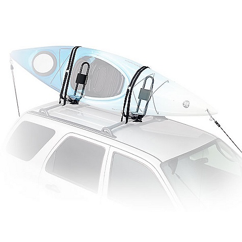 Wake On Sale. Free Shipping. Yakima Hullraiser Aero Roof Rack DECENT FEATURES of the Yakima Hullraiser Aero Roof Rack Sturdy and lightweight aluminum construction for super boat security Includes heavy-duty straps and bow/stern tie-downs Foam padding keeps your boat nice and comfy Fits car rack systems with round, square and most factory crossbars Includes 1 pair of Heavy Duty Straps, with padded buckles Includes Bow/Stern Tie-Down straps to complete kayak stability fits composite and plastic hulls The SPECS Weight: 10.8 lbs Dimension: 5 1/2in. wide front to back. 18in. at its widest. 19in. tall from top of crossbar. Bottom pad is 5 1/2in. x 6 1/2in. Capacity: 1 kayak  var dealerId=16; var newWindow=in.falsein.; var docHead = document.getElementsByTagName('head')[0];  var yakima_config = document.createElement('script'); window.onload=function(){  yakima_config.type = 'text/javascript';   yakima_config.src = 'http://yakima.com/dealers/yakima_configurator.js';   docHead.appendChild(yakima_config); }; OVERSIZE ITEM: We cannot ship this product by any expedited shipping method (3-Day, 2-Day or Next Day). Even if you pick that option, it will still go Ground Shipping. Sorry for being so mean. This product can only be shipped within the United States. Please don't hate us. - $134.10