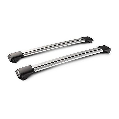 Fitness Features of the Yakima Whispbar Rail Bar Rack Kit - Two Bar Available in 7 different lengths to maximize the carrying capacity while ensuring a perfect Fit to your vehicle Universal T-Slot allows most Yakima bike, water, Snow, and cargo mounts to Fit Includes both rail crossbars with towers and SKS locks - vehicle specific Fitting kit not required for this model - $408.99
