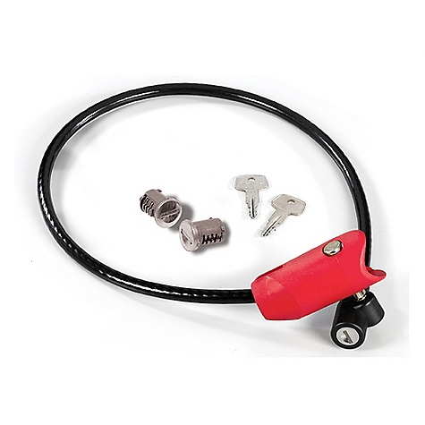 Fitness On Sale. Yakima ArmLock Hitch Accessory DECENT FEATURES of the Yakima ArmLock Hitch Accessory Compatible with the Yakima DoubleDown Ace hitch carrier. Included two cores so your DoubleDown Ace and ArmLock will use the same key. Integrated cable lock secures outside bike to the mount. Cable stows in the arm of the DoubleDown ACE when not in use. The SPECS 8in.in. x 4.5in.in. x 2.5in.in. Patented Anti Sway cradles Weight: 0.83lb OVERSIZE ITEM: We cannot ship this product by any expedited shipping method (3-Day, 2-Day or Next Day). Even if you pick that option, it will still go Ground Shipping. Sorry for being so mean. This product can only be shipped within the United States. Please don't hate us. - $31.50