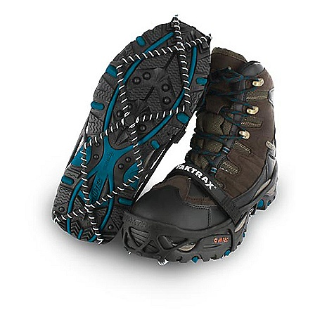 Camp and Hike Features of the YakTrax Pro Snowshoe Spikeless, Ultra Lightweight Design 360Adeg of Traction with Patented Skid Lock Coil System Durable Natural Rubber Blend for Flexible Fit Abrasion Resistant 1.4MM Steel Coins Removable Performance Strap Ensures Fit Heel Tab Allows for Easy Installation and Removal - $24.95