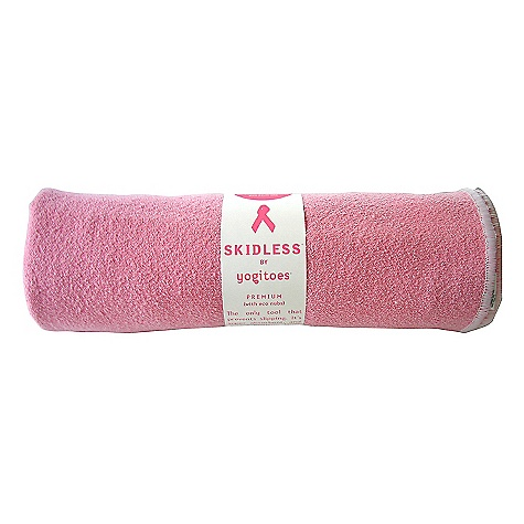 Fitness Free Shipping. yogitoes Skidless Mat - Altruism Collection DECENT FEATURES of the yogitoes Skidless Mat - Altruism Collection Super absorbent and hygienic Place on a yoga mat to prevent slipping Silicone nubs To use simply place the SKIDLESS nubs down on top of a yoga/fitness mat, hotel room carpet, pilates machine or gym equipment yogitoes Altruism Collection recognizes and supports organizations focused on women's health and well being The SPECS Mat size towel: 24in. X 68in. 80% polyester, 20% nylon CARE INSTRUCTIONS Wash separately before using - dyes will bleed Machine wash warm Tumble dry low Do not bleach Do not use dryer sheets, fabric softener or detergents with fabric softener - $50.95