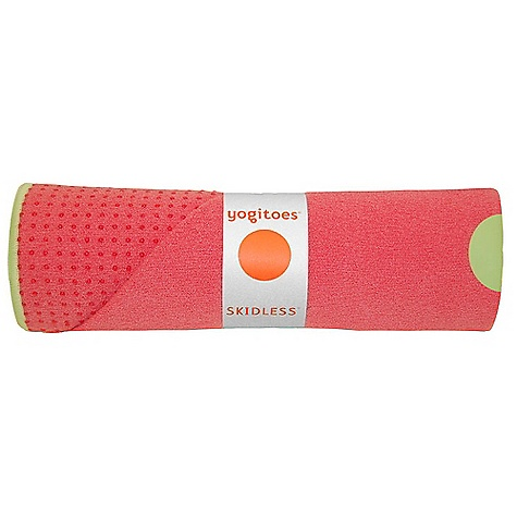Fitness Free Shipping. yogitoes Skidless Mat - Tropicals Collection FEATURES of the Yogitoes Skidless Yoga Mat - Tropicals Collection A super absorbent, hygienic layer to place on your yoga mat to prevent slipping Mat size towel: 24 x 68in. 80% polyester, 20% nylon Silicone nubs - $68.00
