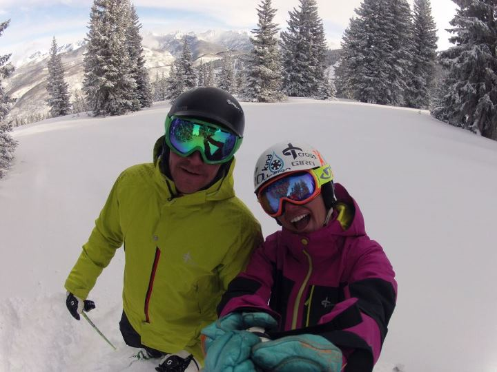 "Time to bring your GoPros back out - 9"" of new snow overnight!"