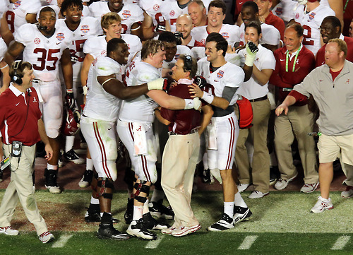 "Sports ""Two days from now, we gotta start on next year."" — Nick Saban, moments after winning the BCS National Championship."