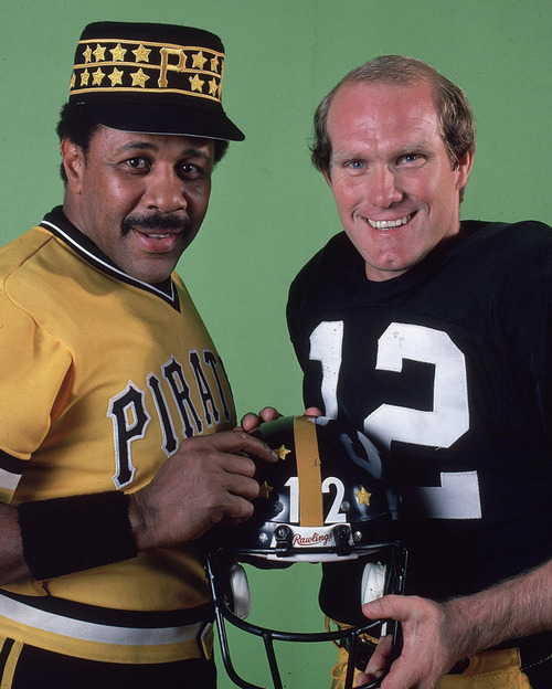Sports Willie Stargell and Terry Bradshaw