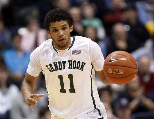 Sports Xavier is auctioning off these game-worn Sandy Hook Elementary tribute jerseys for a great cause.