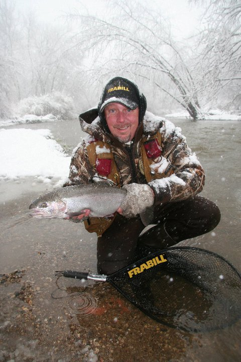 Flyfishing Marty Glorvigen