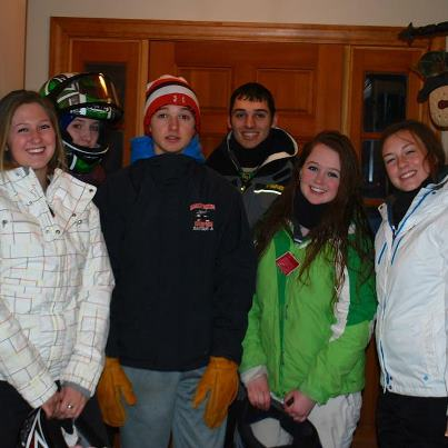 Snowmobile Going snowmobiling with the gang!