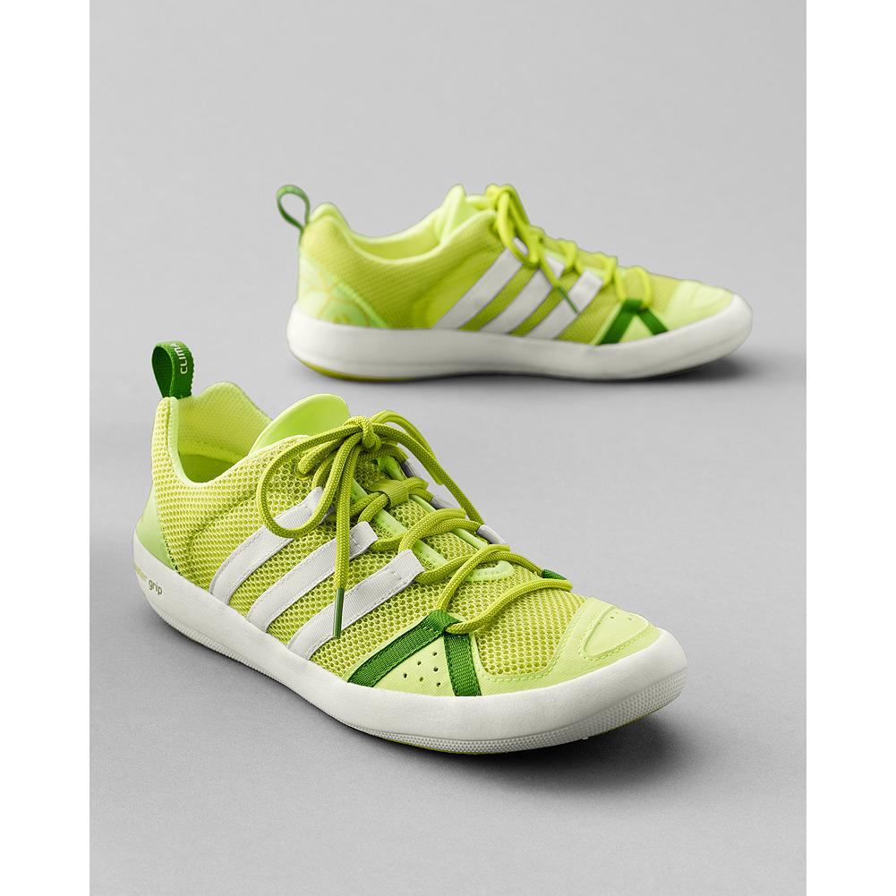 Entertainment Adidas Boat Shoes - CLIMACOOL open-mesh upper lets feet breathe; the footbed's drainage system keeps them dry. TRAXION sole provides superior grip. Imported. Please order a full size down from your normal size. - $49.99
