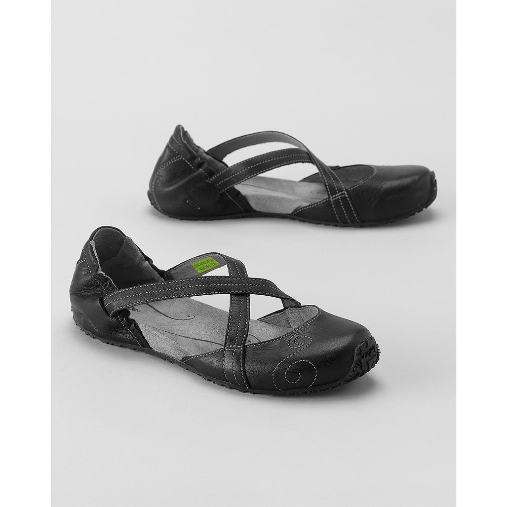 Entertainment Ahnu Karma Active Slip-On Shoes - Just right for travel or commutes, these lightweight slip-on shoes feature elasticized straps, microfiber suede-lined footbeds and Aegis Antimicrobial Technology. Leather upper, rubber sole. Imported. - $69.99