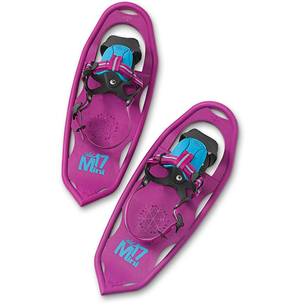 Atlas Mini 17 - Instill winter's wonder with snowshoes designed for performance - and happy kids! Made to withstand any adventure with proprietary Atlas V-Frame construction and solid tempered steel toe and heel. Simple and intuitive Grom binding with EVA tongue. Created for snowshoers ages 4 to 8. Imported. - $39.99