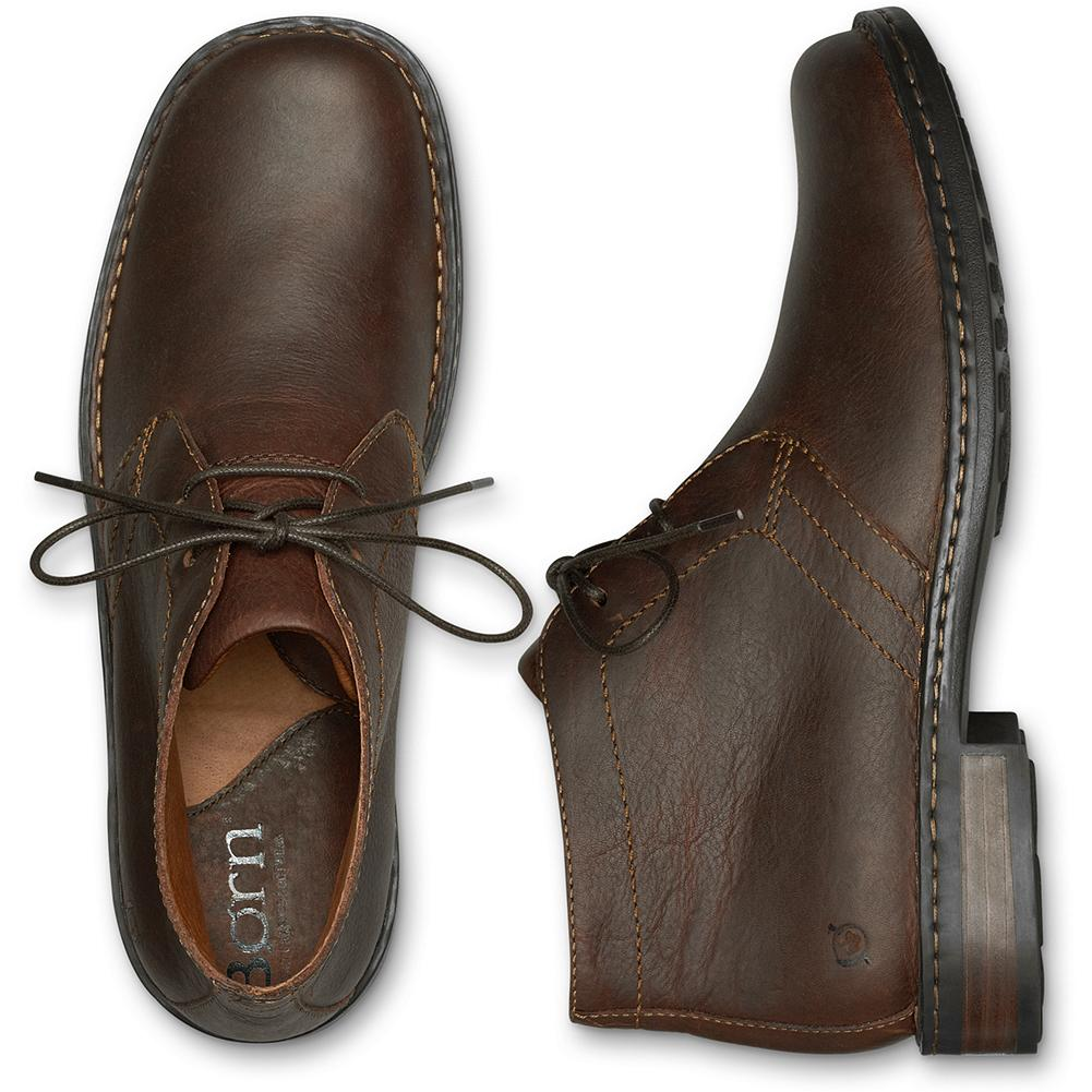 Entertainment B rn Harrison Chukka Boots - A time-tested classic executed in rich, burnished leather with B rn's signature handsewn Opanka construction for added flexibility and comfort. All-leather lined, with a leawood-wrapped heel and a durable rubber outsole. Imported. - $79.99