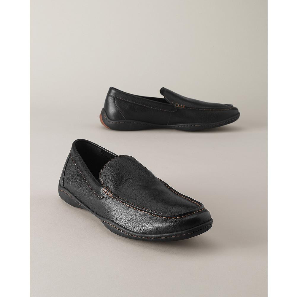 Entertainment B rn Harmon Moc Shoes - Rich, full-grain leather upper and handsewn Opanka construction give these slip-on shoes from B rn exceptional flexibility, comfort, and durability. Steel shank provides stability and support, reducing foot fatigue. - $110.00