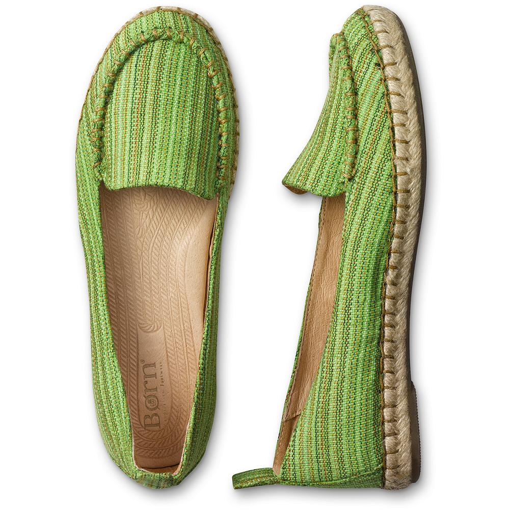 Entertainment B rn Sitton Moc-toe Espadrilles - Fresh styling with B rn's signature hand-sewn Opanka construction for exceptional flexibility and comfort. Canvas upper/leather lining. Rubber sole. Imported. - $49.99