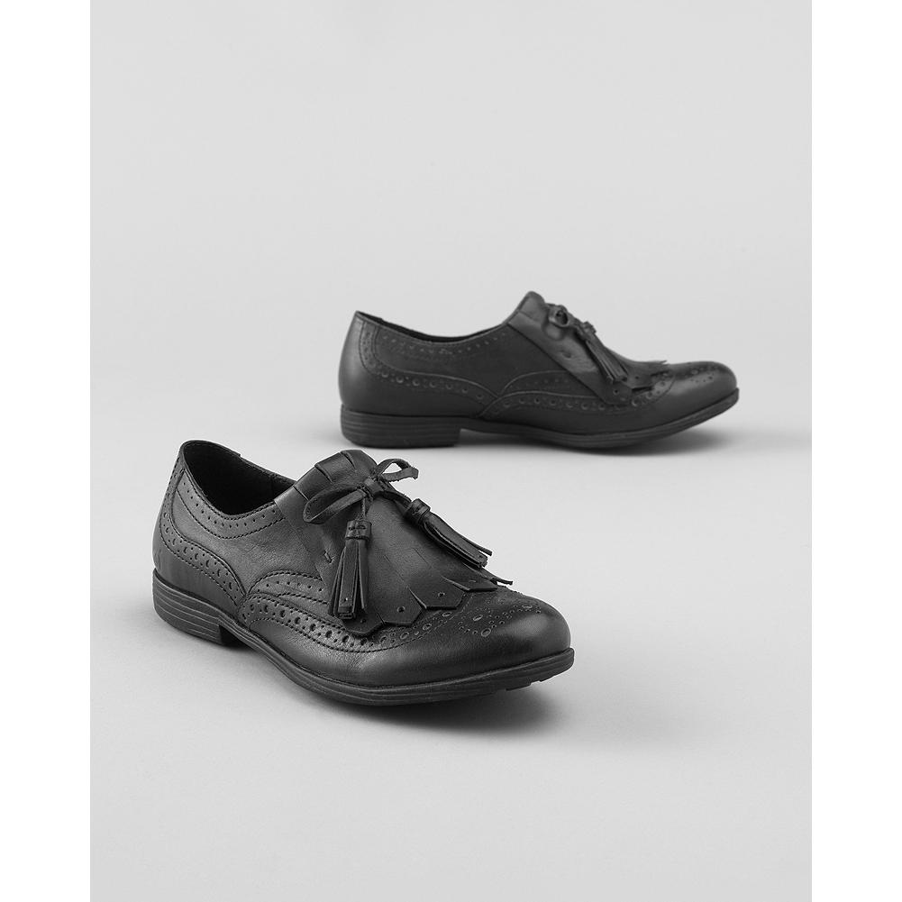 Entertainment B rn Boylenn Kiltie Slip-On Shoes - Rich brogue accents and tassled laces lend vintage charm to B rn's classic slip-on shoes. Opanka hand-sewn construction delivers superior comfort and flexibility. Leather lining and footbed. Lightweight rubber outsole. Imported. - $29.99