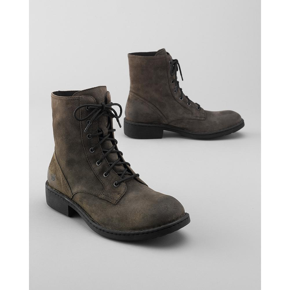 Entertainment B rn Ritter Boots - This B rn lace-up boot features a rich suede upper and Opanka hand-sewn construction for superior comfort and flexibility. Leather footbed. Rubber lug sole. - $79.99