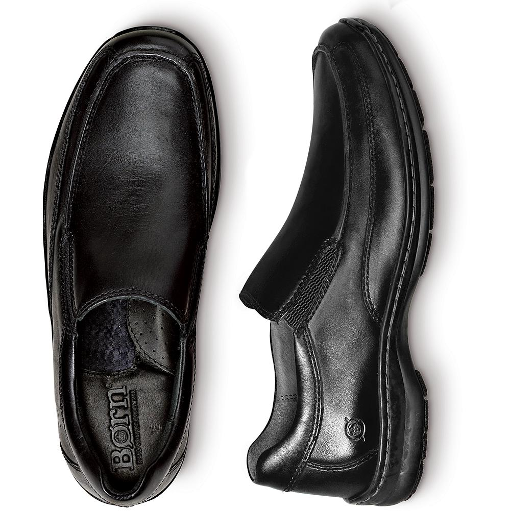 Entertainment B rn Andre Slip-On Shoes - These handsome and versatile leather slip-on shoes feature B rn's handsewn Opanka construction for exceptional comfort and support. - $79.99