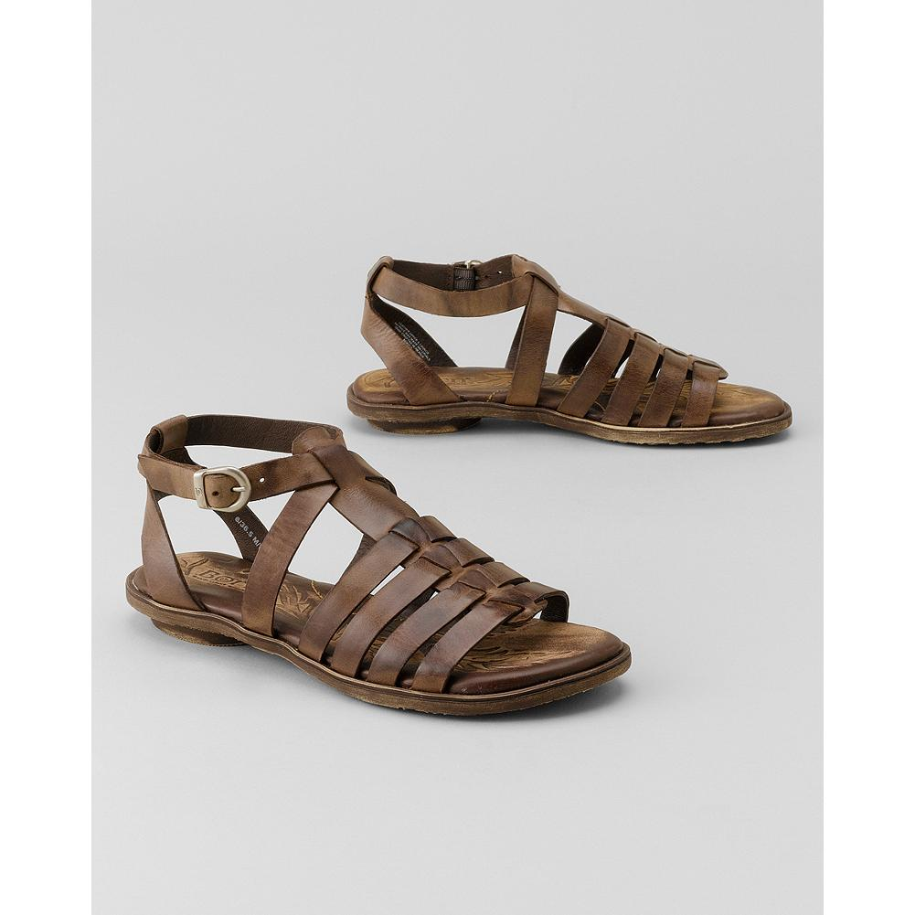 Entertainment B rn Claudy Gladiator Sandals - These gladiator-style sandals feature B rn's signature hand-sewn Opanka construction for exceptional flexibility and comfort. - $69.99