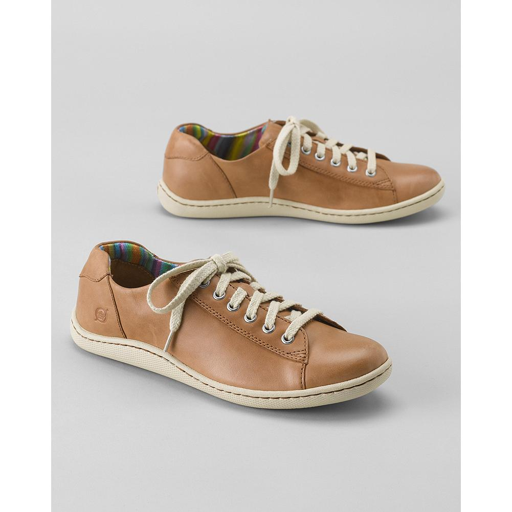 B rn Ilisha Sport Oxfords - These leather oxfords offer color-rich comfort with B rn's signature hand-sewn Opanka construction for exceptional flexibility and support. Lace-up design is available in four cheerful warm-weather hues. - $24.99