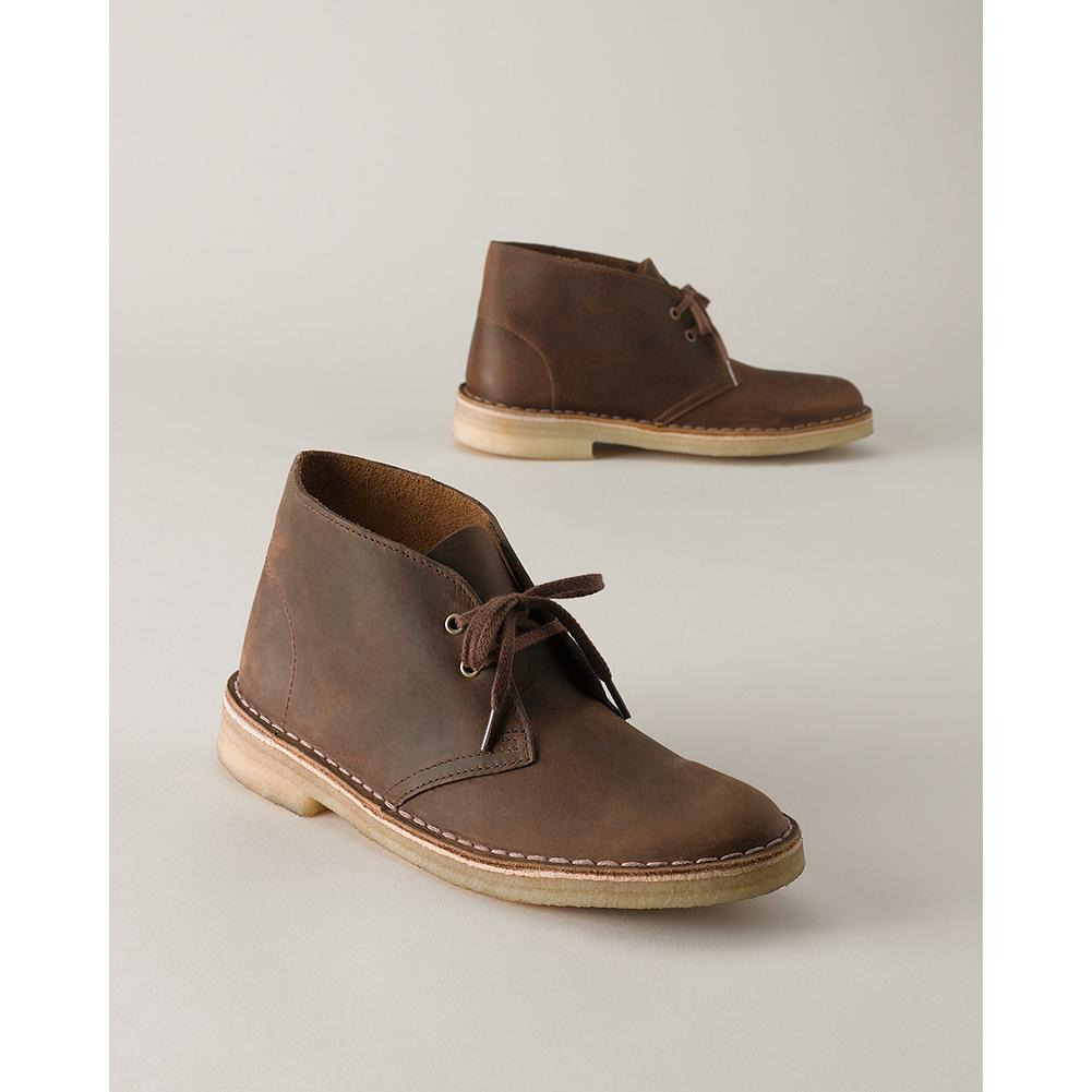 Clarks Desert Boots - A Clarks original, this classic ankle boot has been a favorite ever since its debut in 1949. Made of soft supple leather with a genuine plantation crepe outsole. Imported. - $115.00