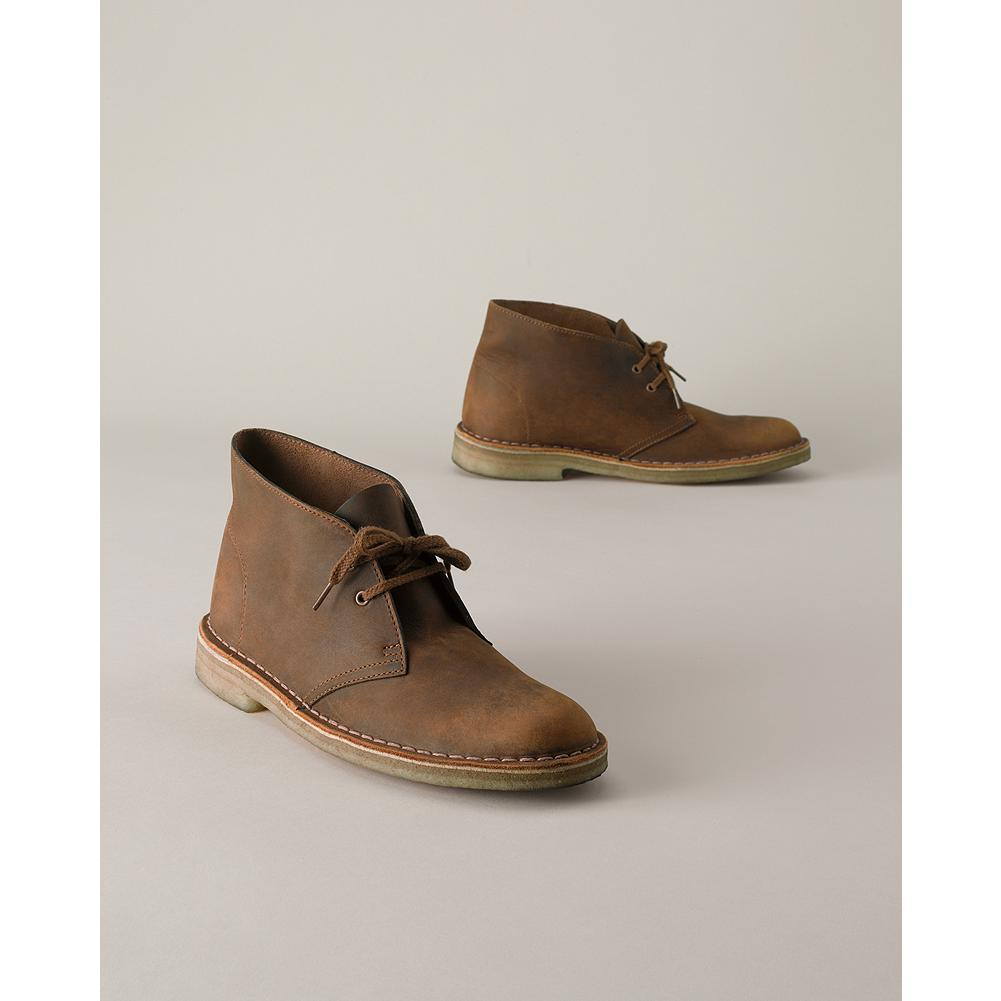 Entertainment Clarks Desert Boots - A Clarks Original, this boot is inspired by the boots worn by British officers in World War II, and first carried in our catalog in 1963. Designed to allow for a natural toe spread. Genuine plantation crepe outsole provides all-day comfort. - $89.99
