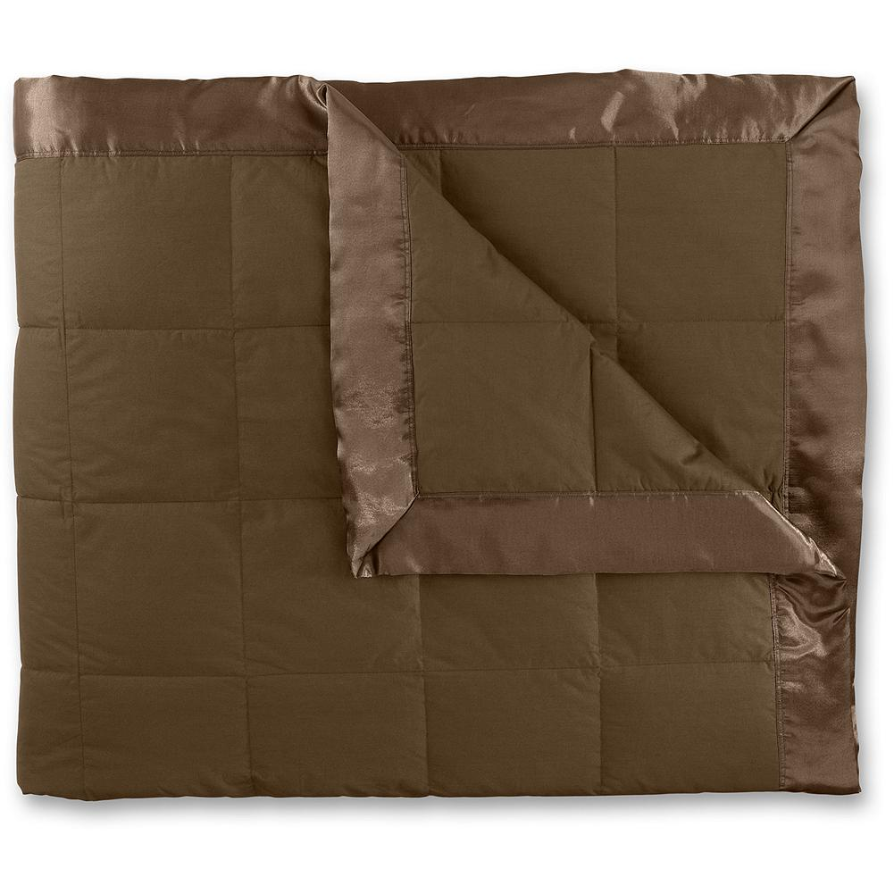 Entertainment Eddie Bauer Down Blanket - This popular bedroom classic offers you the perfect amount of warmth to help you sleep blissfully through the cold weather months ahead. Imported. - $199.00