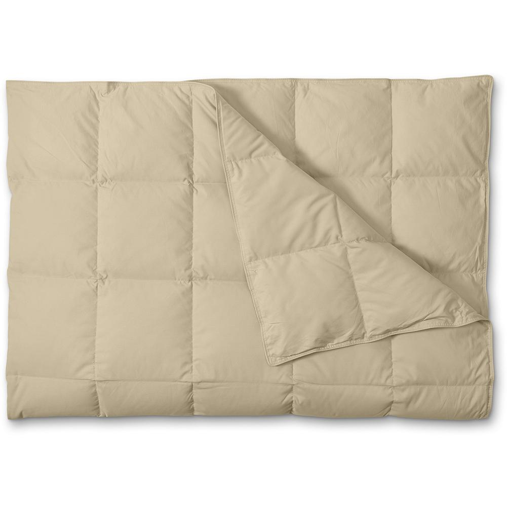 Entertainment Eddie Bauer Oversized Down Throw Blanket - EXPEDITION OUTFITTERS(TM) We took everything you loved about our famous down throws and oversized them for more warmth and comfort! Made of soft polyester and filled with 550 fill power premium goose down. Imported. - $80.00