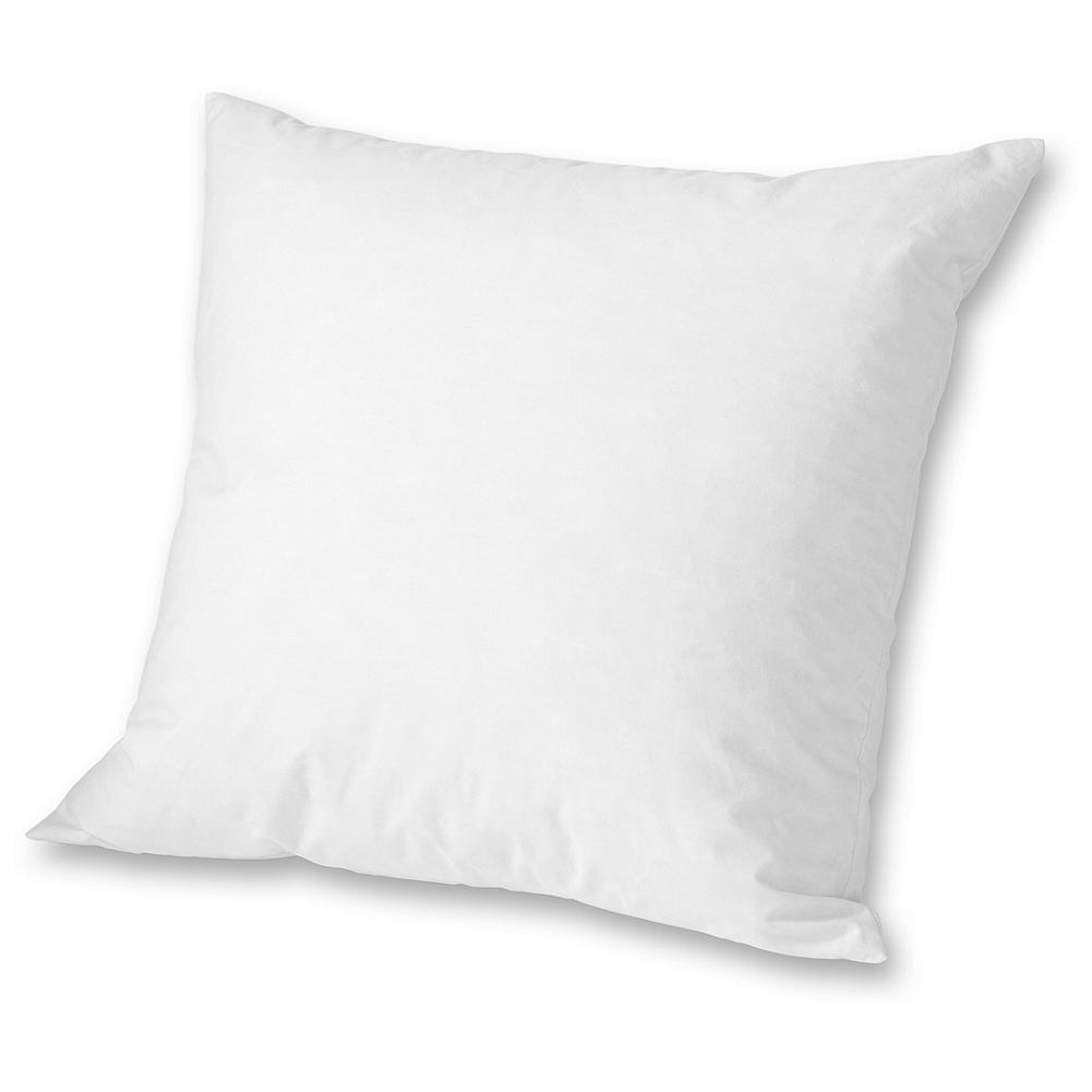 Entertainment Eddie Bauer Down Pillow Insert 16x16 - Fill your decorative accent pillow covers and shams with the comfort and luxury of down. Our pillow inserts are made of downproof 230 thread cotton and generously filled with a plush blend of gray goose feathers and down for excellent loft and support. Imported. - $18.00