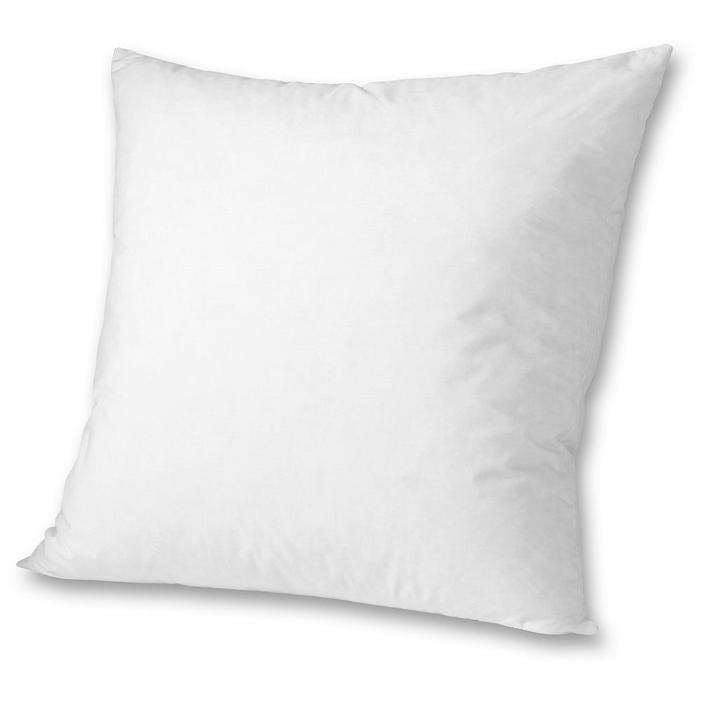 Entertainment Eddie Bauer Down Pillow Insert 20x20 - Fill your decorative accent pillow covers and shams with the comfort and luxury of down. Our pillow inserts are made of down proof 230 thread cotton and generously filled with a plush blend of gray goose feathers and down for excellent loft and support. Available in four sizes. Imported. - $20.00